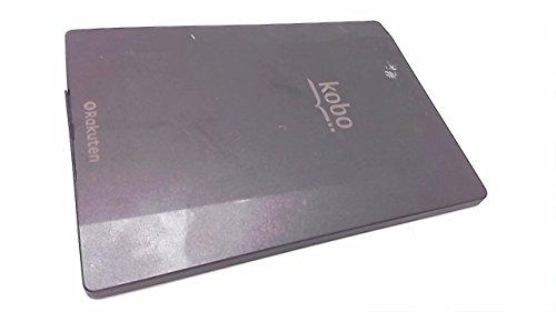 『Rakuten 電子書籍リーダー Kobo Aura H2O ブラック N250-KJ-BK-S-EP』のトップ画像