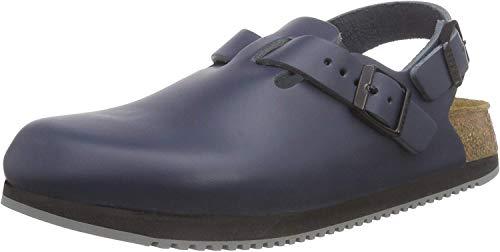 Birkenstock Original Tokyo Leather Narrow Width, Blue L9 M7 40,0