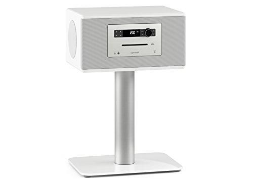 sonoro HiFi Weiß - High End 3-Wege HiFi Stereo Musiksystem mit Bluetooth, Optischer Digitaleingang, FM/DAB/DAB+ Radio, CD, vorinstallierte Meditations- und Relaxinhalte