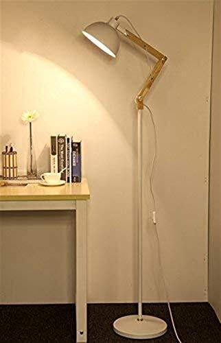 Busirsiz Lámparas de pie, de la personalidad creativa llevó la vida moderna Sala de Estudio Dormitorio vertical Lámpara de piso, Eye-El cuidado de luz vertical