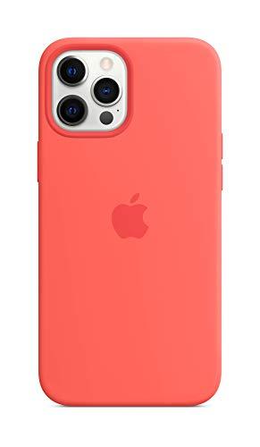 Apple Funda de Silicona con MagSafe (para el iPhone 12 Pro MAX) - Pomelo Rosa