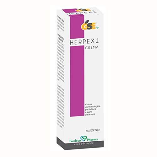 GSE HERPEX1 Crema Labbra Semi Pompelmo Herpes Lip Cream Grapefruits Seed 7,5ml