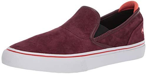Emerica Zapatillas de skate Wino G6 para hombre, rojo (Burgundy), 43.5 EU