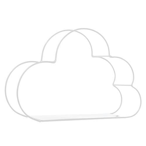 zhibeisai Sostenedor del Metal de Hierro de Almacenamiento Nube Diseño montado en la Pared del Estante de visualización Figuras Crafts estantes del Ministerio del Interior