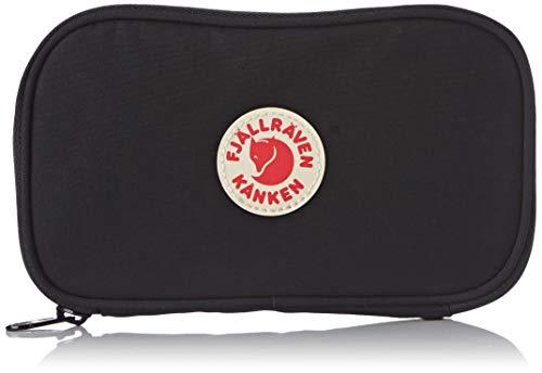FJÄLLRÄVEN Kånken Travel Wallet Bieftasche, Black, 19 cm