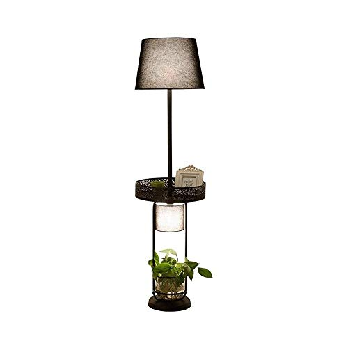 SXRKRZLB Floor Lamp Living Room Decoration Bedroom Bedside Lamp Study Simple Modern Creative Sofa Coffee Table Nordic Plant Vertical Table Lamp