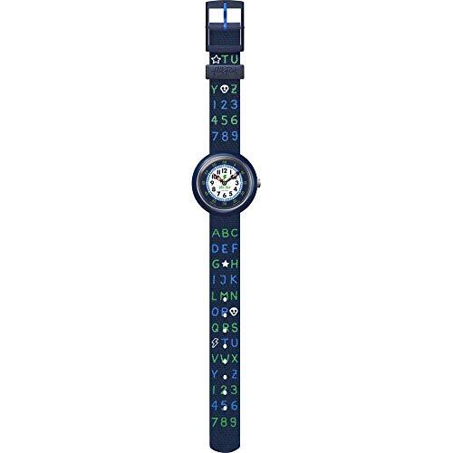 Flik Flak Jungen Analog Quarz Uhr mit Textil Armband FBNP132