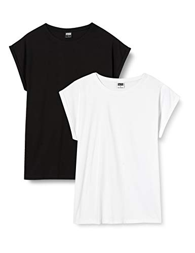 Urban Classics Camiseta (Pack de 2) para Mujer