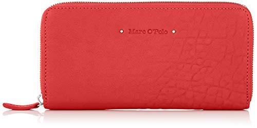 Marc O'Polo Damen Emilie Geldbörse, Rot (Lipstick Red), 2.5x10x19.2 cm