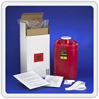 3 Gallon Sharps Mail Back Disposal System