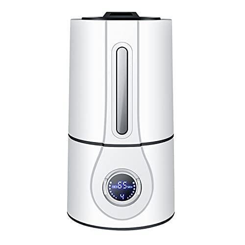 Humidificador de Aire Humidificadores Difusor Vaporizador Silenciosos Bebes para Habitacion Pulverizador Cilindro Control Remoto Inteligente Hogar Oficina Aromaterapia,White