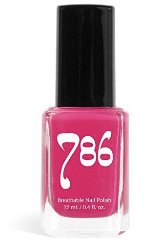 786 Cosmetics Breathable Nail Polish - Vegan Nail Polish, Cruelty-Free, Healthy, Halal Nail Polish, Fast-Drying Nail Polish (Hyderabad)