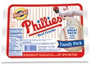 Phillies Beef Franks 3 Lb. (2 Packs)
