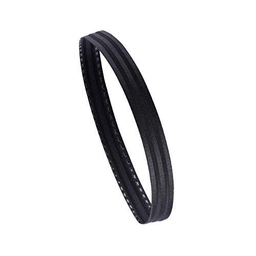WNFDH Sport Hoofdbanden/Nacht reflecterende strip Slip Haarband Elastische Silicone Sweatband/Niet Slip Moisture Wicking Athletic Hoofddeksels