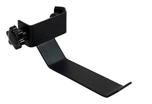 YMC Headphone Holder Tambourine Holder Hanger Clip for Microphone/Musical Stand, Black