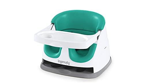 Ingenuity, Baby Base 2-en-1 Siège Rehausseur - Outremer Vert