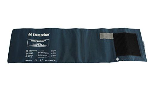 Riester 150 Brazalete desinfectable de una pieza, reutilizable, adulto,1 tubo, sin latex