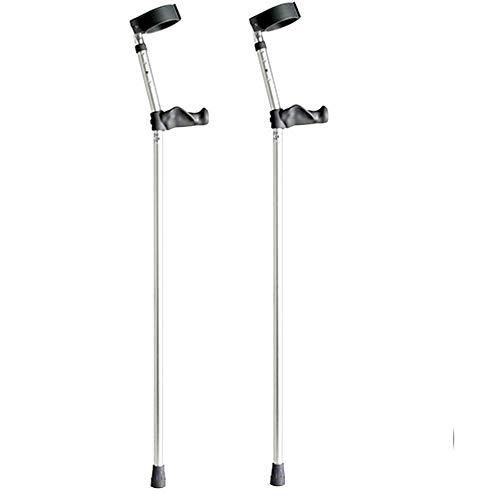 Krücken (für Menschen mit hohem Körpergewicht geeignet) 1 Paar