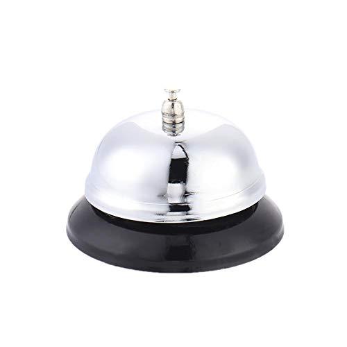 Bell Anrufen,Gold Überzogen Hand Glocke, Loud Anruf Service Bell Warnung Werkzeug Für Bar Bell Restaurant Servierglocke