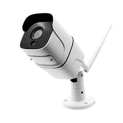 Cámara De Seguridad Al Aire Libre, Cámara IP Inalámbrica WiFi, Con Impermeable, Detección De Movimiento, Visión Nocturna, Acceso Remoto, Características De Audio De 2 Vías, Cámara Para La Seguridad De