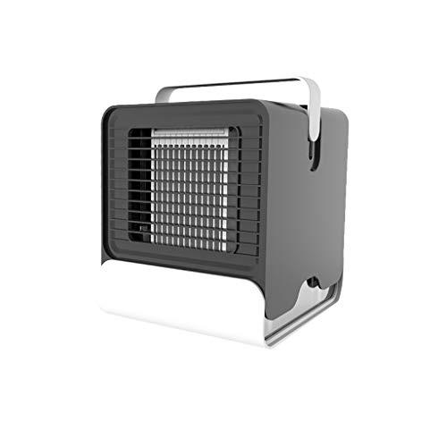 ESAILQ-Home Enfriamiento Fresco del Mini Aire Acondicionado portátil para la Fan del refrigerador del Aire del Dormitorio