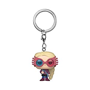Funko Pop! Keychain: Harry Potter – Luna Lovegood, Multicolor