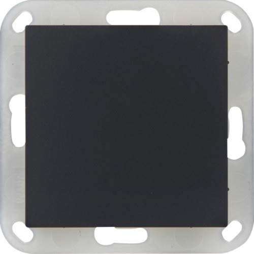 OPUS® 55 Blindabdeckung mit Kunststofftragring Farbe anthrazit - seidenglanz