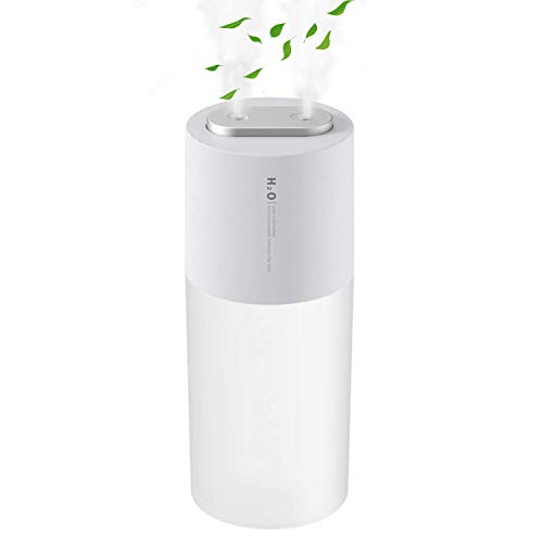 FAMATE Wireless Humidifier Travel Portable Dual Mist Humidifier Battery Powered Cordless Humidifier Personal Humidifier...