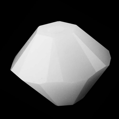 Swarovski ELEMENTS Crystal #5328 3mm Bicone Beads White Alabaster (25 Beads)
