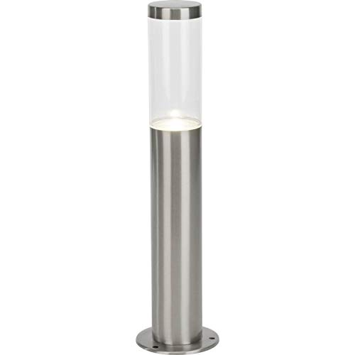 BERGEN - Borne d'extérieur LED Acier/Transparent H40cm - Luminaire d'extérieur Brilliant designé par
