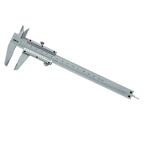 SK11 測定具 ノギス 最大計測150mm バーニア目盛り付 収納ケース付 奥行0.5×高さ23.3×幅8cm