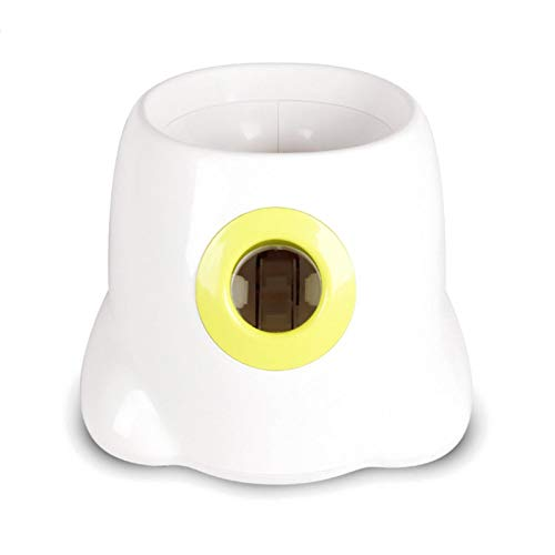 Lamptti lanzador automático de pelotas para perro, juguete interactivo para lanzar, pelotas de tenis, juguete interactivo para mascotas y dueños con 3 pelotas
