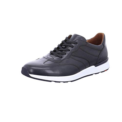 LLOYD Herren Low-Top Sneaker ASCAR, Männer Sneaker,Halbschuh,Schnürschuh,Strassenschuh,Business,Freizeit,Ocean,8 UK / 42 EU