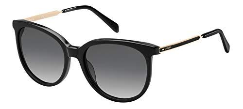 Fossil FOS 3064/S Gafas, Negro, 55 para Mujer