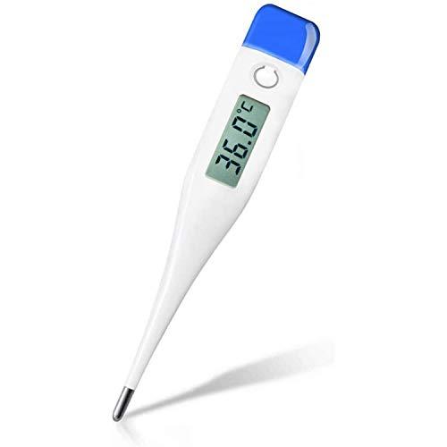 Ossky Thermomètre basal, lectures précises et Rapides avec indicateur de fièvre, thermomètre sous Les aisselles pour Adultes et bébés, thermomètre pour fièvre