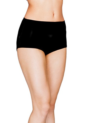 Utenos 100% Merino Wool Women's Base Layer Underpants Made in EU (Black, M)