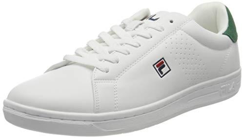 FILA Crosscourt 2 F men zapatilla Hombre, blanco (White Greener Pastures), 41 EU