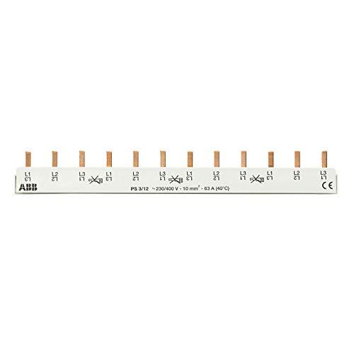 ABB PS3/12 pro M compact Stiftschiene 3-polig, 12 Einheiten