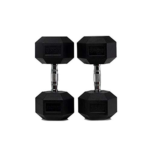 Set di 2 manubri esagonali (2 x 15 kg)