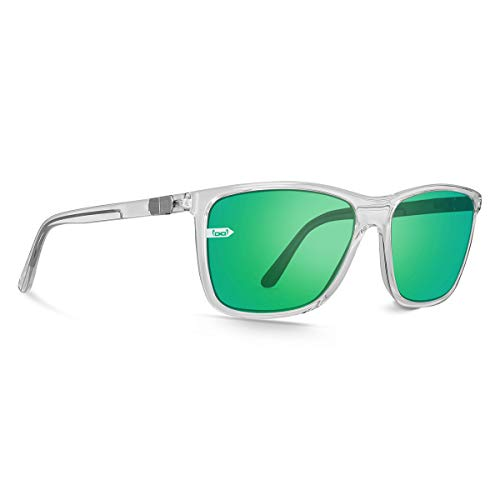 gloryfy unbreakable (Gi15 St. Pauli Clear Green) - Unzerbrechliche Sonnenbrille, Sport, Lifestyle, Damen, Herren, Clear-Grün