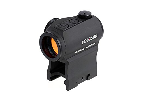 HOLOSUN Paralow HS503G Red Dot Sight ACSS CQB Fadenkreuz mit Auto-On Funktion