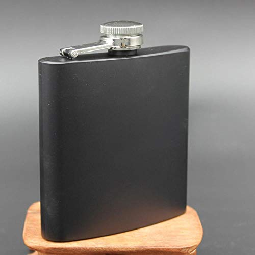 YAOJII 1 stks Whisky Flagon RVS Alcohol Hip Flask Gepersonaliseerde PU Lederen Whiskey Fles