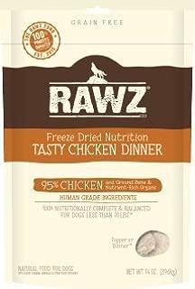RAWZ Freeze Dried Tasty Chicken Dinner Dog Food 14 OZ Bag
