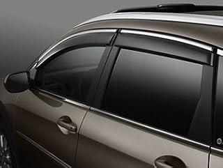 Windows Deflectors Visor For 2012-2016 Honda CRV Pack of 4 Black