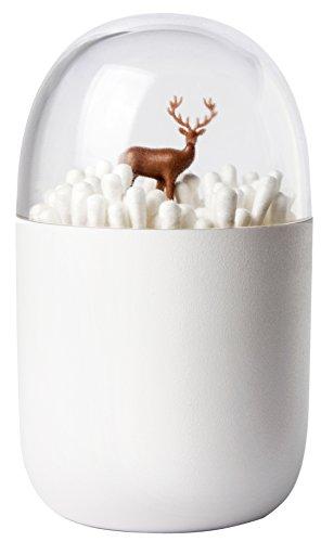 クオリー 綿棒 めんぼう コットン ケース 入れ 小物 収納 北欧 バッドホルダー シカ ディア ヤード 521707200
