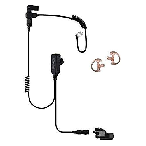 Tactical Ear Gadgets EP1323QR Hawk Lapel Microphone for Motorola XTS5000 XTS3000 XTS2500 Radio (Black Tube)