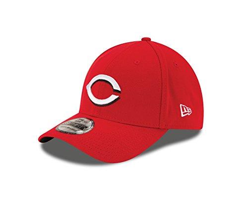 New Era MLB Cincinnati Reds Team Classic Home 39Thirty Stretch Fit Cap, Red, Medium/Large