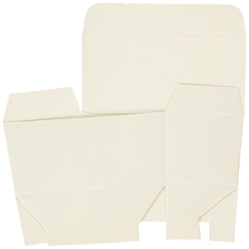 Cajas de regalo blancas, caja de trufas estándar, paquete de 20