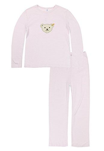 Steiff Steiff Mädchen Schlafanzug, Rosa (Barely Pink 2560), 4 Jahre (Herstellergröße:104)