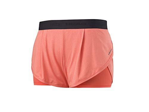 Scopri offerta per Head Vision Short Womens, Pantaloncini Donna, Coral, XS